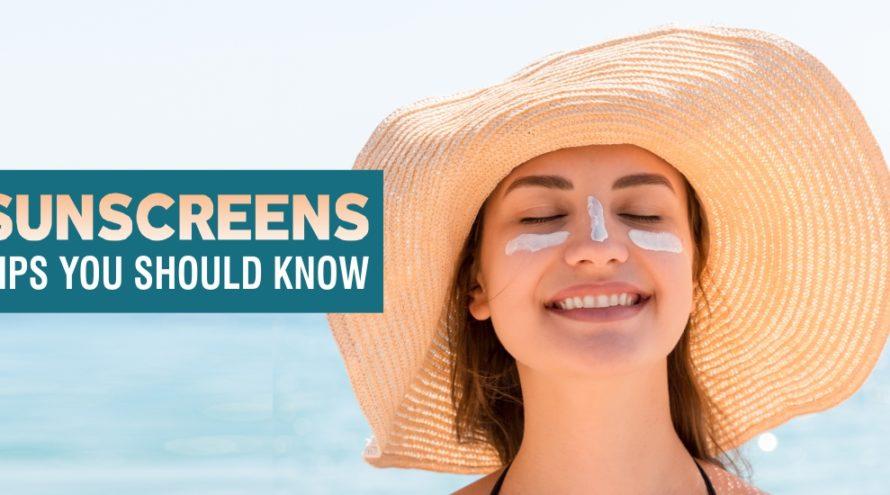 sunscreen tips byexperts